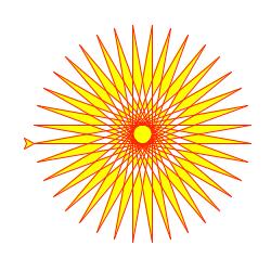 Python 笔记:简单的绘图工具 – turtle